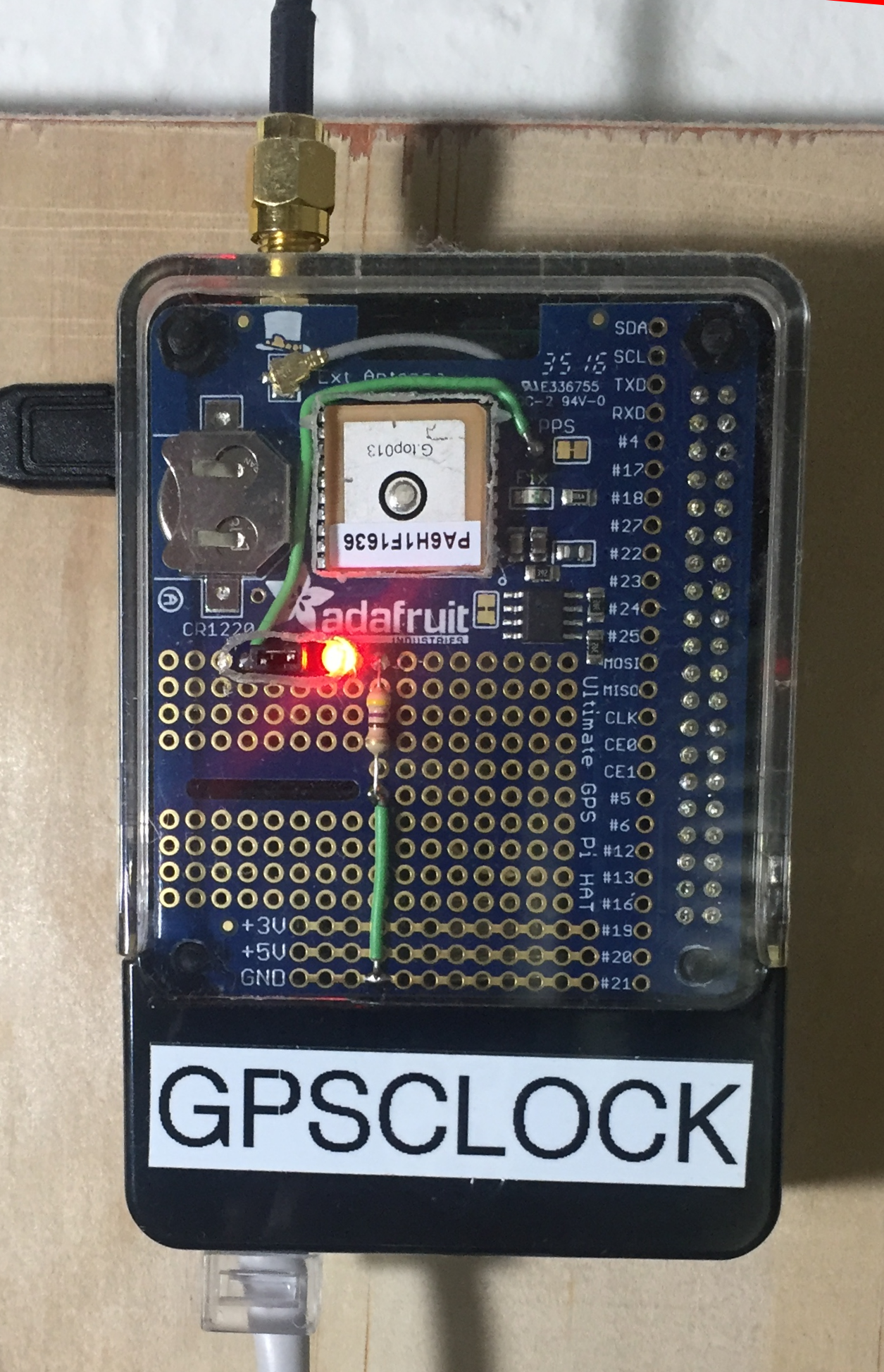 Building a GPS Time Server with the Raspberry Pi 3